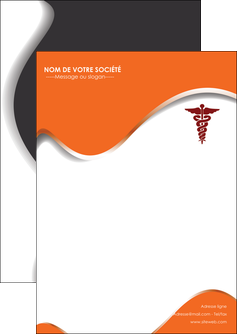 faire flyers chirurgien pharmacie hopital medecin MIF31081