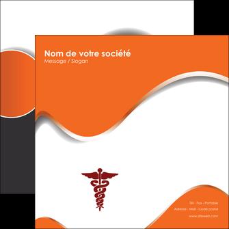 personnaliser maquette flyers chirurgien pharmacie hopital medecin MIF31089