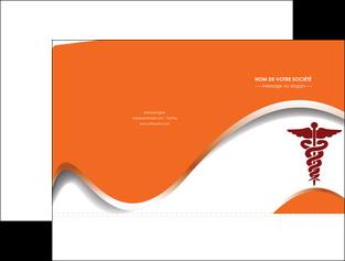 personnaliser modele de pochette a rabat chirurgien pharmacie hopital medecin MIF31095