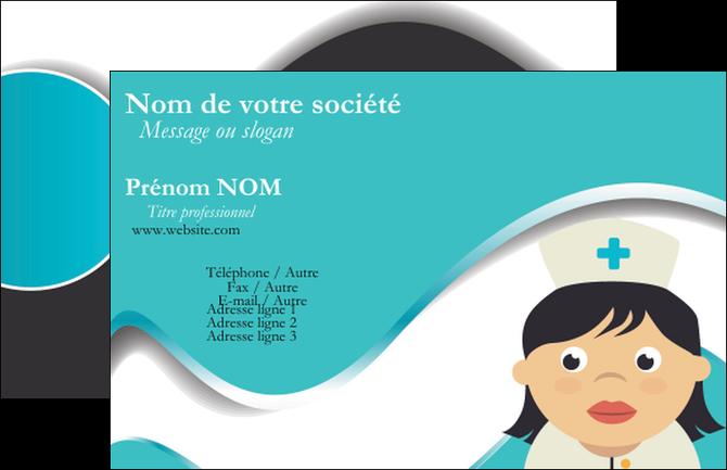Exemple Carte De Visite Infirmier Infirmiere Infirmerie Blouse MLGI31361