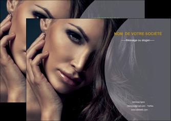 creation graphique en ligne flyers cosmetique beaute bien etre coiffure MLGI31377