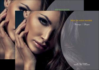 imprimer flyers cosmetique beaute bien etre coiffure MLGI31379