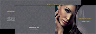 faire modele a imprimer depliant 2 volets  4 pages  cosmetique beaute bien etre coiffure MLGI31387