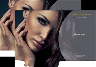 personnaliser modele de pochette a rabat cosmetique beaute bien etre coiffure MLGI31391
