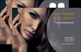 maquette en ligne a personnaliser carte de visite salon de coiffure beaute bien etre coiffure MLGI31395