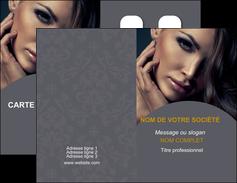 faire modele a imprimer carte de visite cosmetique beaute bien etre coiffure MLGI31397