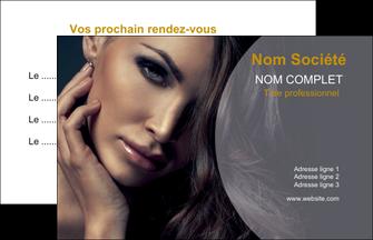 imprimer carte de visite cosmetique beaute bien etre coiffure MLIP31401