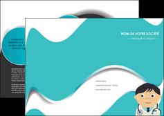 imprimerie depliant 2 volets  4 pages  chirurgien docteur soin soin medical MIF31483
