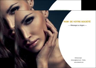 modele flyers centre esthetique  beaute bien etre coiffure MLGI31511