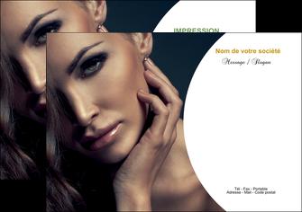 imprimer flyers cosmetique beaute bien etre coiffure MLGI31513