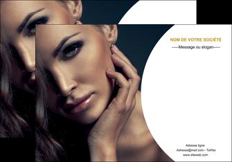 personnaliser modele de affiche cosmetique beaute bien etre coiffure MLGI31515
