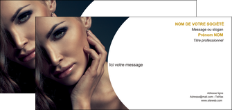 maquette en ligne a personnaliser carte de correspondance centre esthetique  beaute bien etre coiffure MLGI31517
