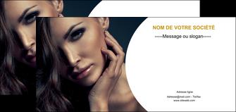 maquette en ligne a personnaliser flyers centre esthetique  beaute bien etre coiffure MLGI31519