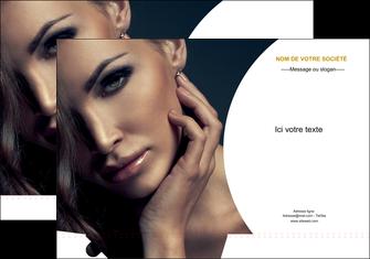 maquette en ligne a personnaliser pochette a rabat cosmetique beaute bien etre coiffure MLGI31527