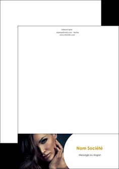 creation graphique en ligne tete de lettre cosmetique beaute bien etre coiffure MLGI31533