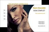 impression carte de visite cosmetique beaute bien etre coiffure MLIP31535