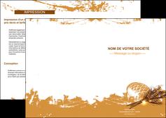 creer modele en ligne depliant 2 volets  4 pages  boulangerie pains boulangerie boulanger MIF31541