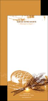 imprimerie flyers boulangerie pains boulangerie boulanger MIF31547