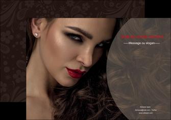 creation graphique en ligne affiche centre esthetique  beaute bien etre coiffure MLGI31651