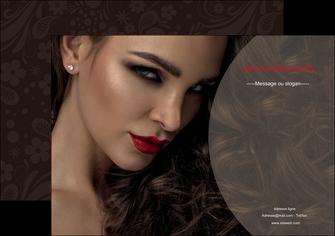 creer modele en ligne affiche centre esthetique  beaute bien etre coiffure MLGI31653