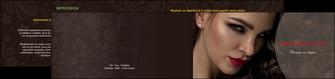 creation graphique en ligne depliant 2 volets  4 pages  centre esthetique  beaute bien etre coiffure MLGI31665