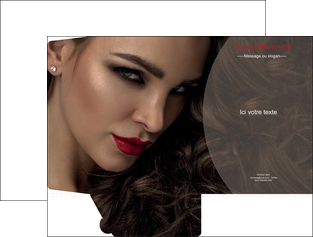 realiser pochette a rabat centre esthetique  beaute bien etre coiffure MLGI31667