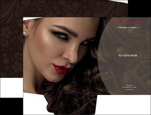 creer modele en ligne pochette a rabat centre esthetique  beaute bien etre coiffure MLGI31669