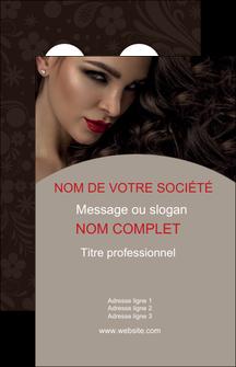 imprimer carte de visite centre esthetique  beaute bien etre coiffure MLGI31671