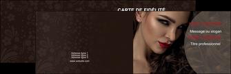 imprimer carte de visite centre esthetique  beaute bien etre coiffure MLGI31673