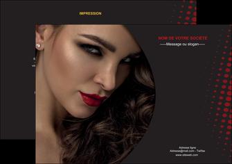 faire modele a imprimer flyers centre esthetique  coiffeur a domicile salon de coiffure salon de beaute MLGI31765