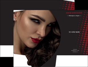 exemple pochette a rabat centre esthetique  coiffeur a domicile salon de coiffure salon de beaute MLGI31773