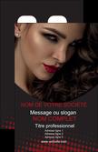 imprimer carte de visite centre esthetique  coiffeur a domicile salon de coiffure salon de beaute MLGI31775