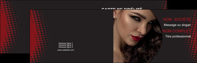 Carte De Visite Coiffure Professionnelle Modele Gratuit Design Bleu