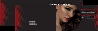 maquette en ligne a personnaliser carte de visite centre esthetique  coiffeur a domicile salon de coiffure salon de beaute MLGI31777