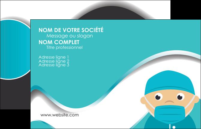 Modele En Ligne Carte De Visite Infirmier Infirmiere Infirmerie Aide Soignant MLGI31791