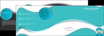 modele en ligne depliant 4 volets  8 pages  infirmier infirmiere infirmier infirmerie aide soignant MLGI31803