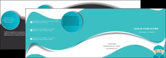 creation graphique en ligne depliant 4 volets  8 pages  infirmier infirmiere infirmier infirmerie aide soignant MLGI31805