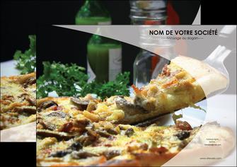 exemple flyers pizzeria et restaurant italien pizza pizzeria restaurant italien MLGI31863
