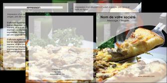 faire modele a imprimer depliant 2 volets  4 pages  pizzeria et restaurant italien pizza pizzeria restaurant italien MLGI31865