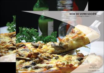 personnaliser modele de affiche pizzeria et restaurant italien pizza pizzeria restaurant italien MLGI31871