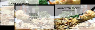 maquette en ligne a personnaliser carte de visite pizzeria et restaurant italien pizza pizzeria restaurant italien MLGI31873