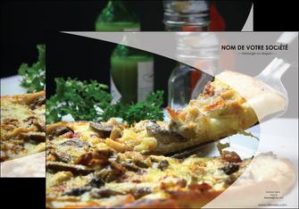 modele affiche pizzeria et restaurant italien pizza pizzeria restaurant italien MLGI31887