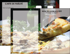 personnaliser modele de carte de visite pizzeria et restaurant italien pizza pizzeria zone tampon MLGI31893