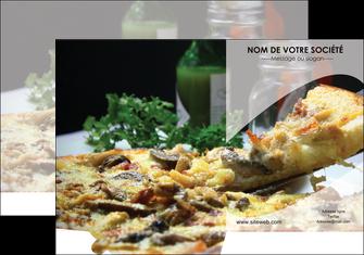 personnaliser maquette pochette a rabat pizzeria et restaurant italien pizza pizzeria restaurant italien MLGI31895