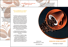 creation graphique en ligne depliant 3 volets  6 pages  discotheque et night club cafe tasse de cafe graines de cafe MLIG31943