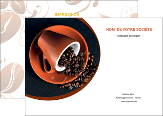 personnaliser modele de flyers discotheque et night club cafe tasse de cafe graines de cafe MLIG31945