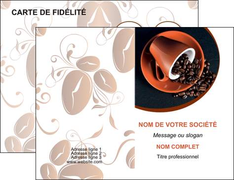 faire carte de visite discotheque et night club cafe tasse de cafe graines de cafe MLIG31965
