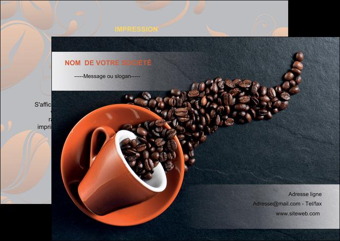 maquette en ligne a personnaliser flyers bar et cafe et pub cafe bar torrefacteur MLGI31973