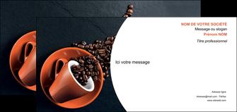 realiser carte de correspondance bar et cafe et pub cafe bar torrefacteur MLGI31979