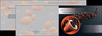 modele en ligne depliant 2 volets  4 pages  bar et cafe et pub cafe bar torrefacteur MLGI31985